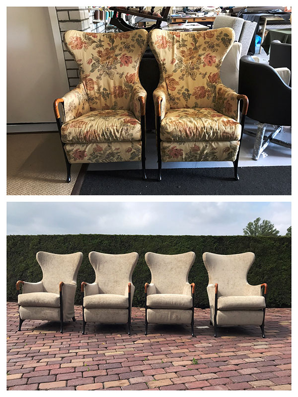 Giorgetti Wing Chair