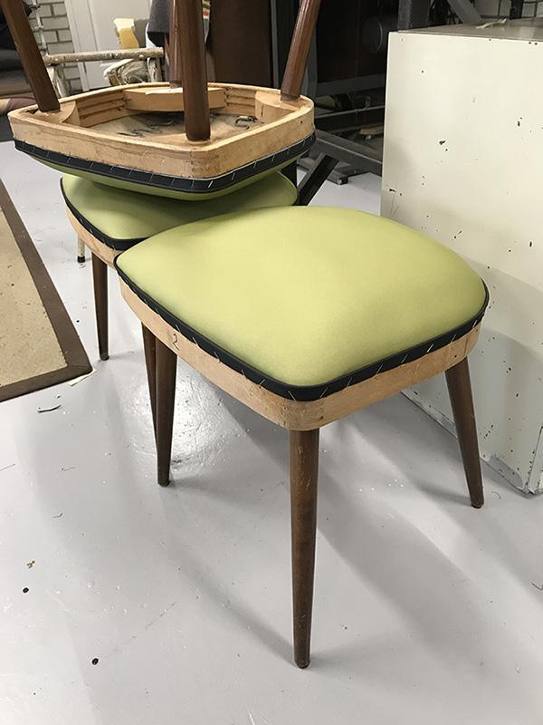 fifties stoel opknappen