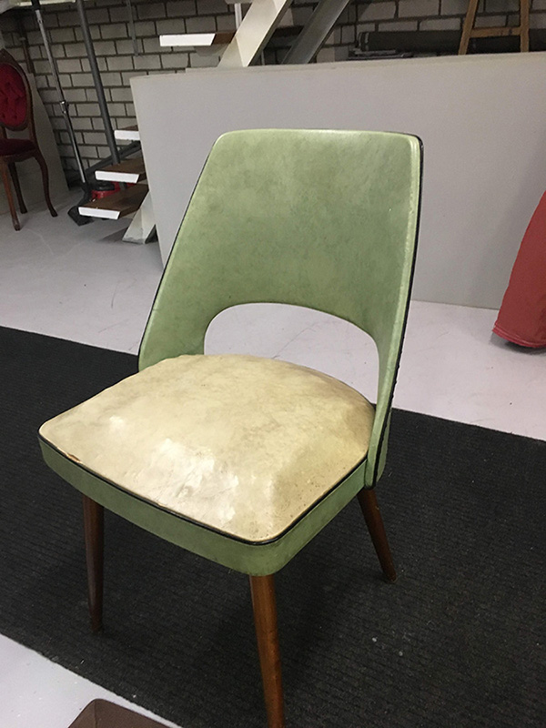 fifties stoelen stofferen