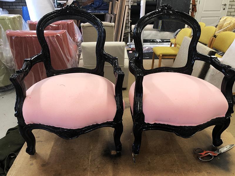 binnenwerk stoel opknappen